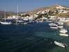 Ios island, at the harbour. Cyclades islands, Greece.